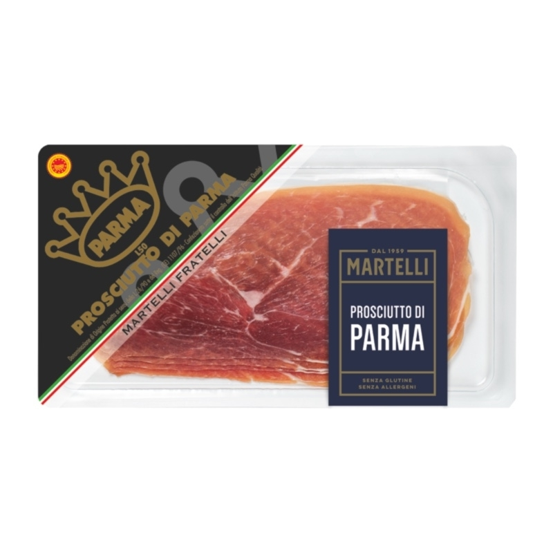 Prosciutto Parma affettato vaschetta mini